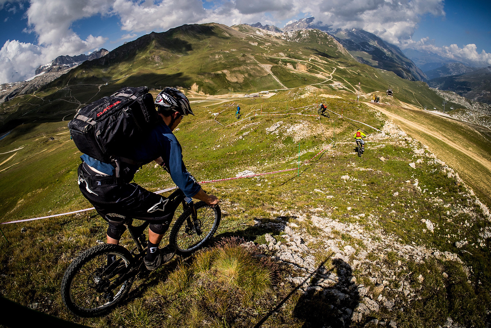 Enduro World Series Val d'Isere Recon - 2013 Enduro World Series 6, Enduro Des Nations Photo Recon - Mountain Biking Pictures - Vital MTB