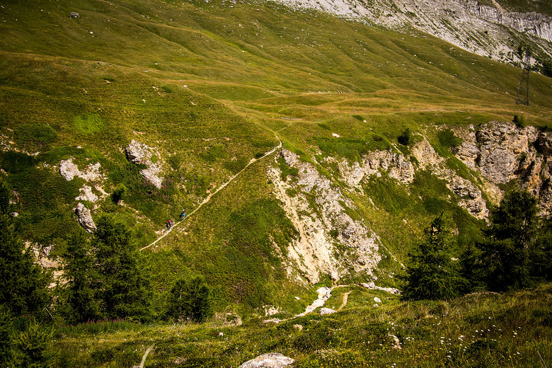 Stage 2 Climb at Enduro World Series Val d'Isere - 2013 Enduro World Series 6, Enduro Des Nations Photo Recon - Mountain Biking Pictures - Vital MTB