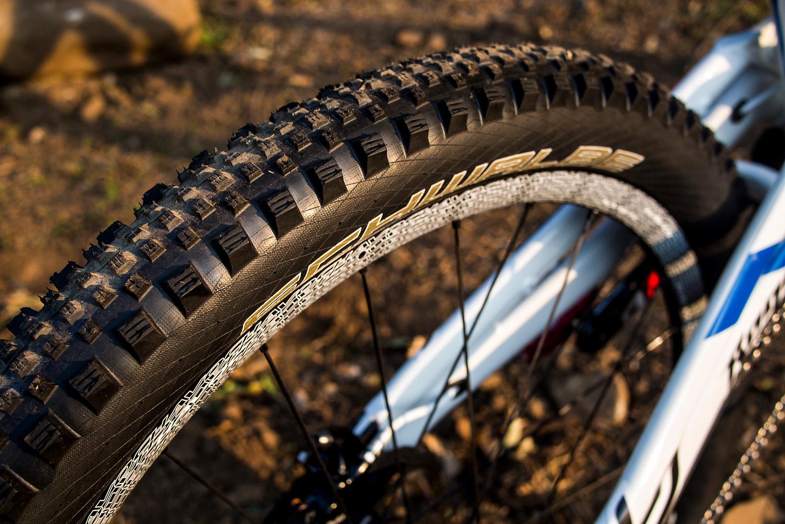 Schwalbe Rock Razor DH Tire for World Champs - WORLD CHAMPS BIKE - Emmeline Ragot's Lapierre DH 720 - Mountain Biking Pictures - Vital MTB