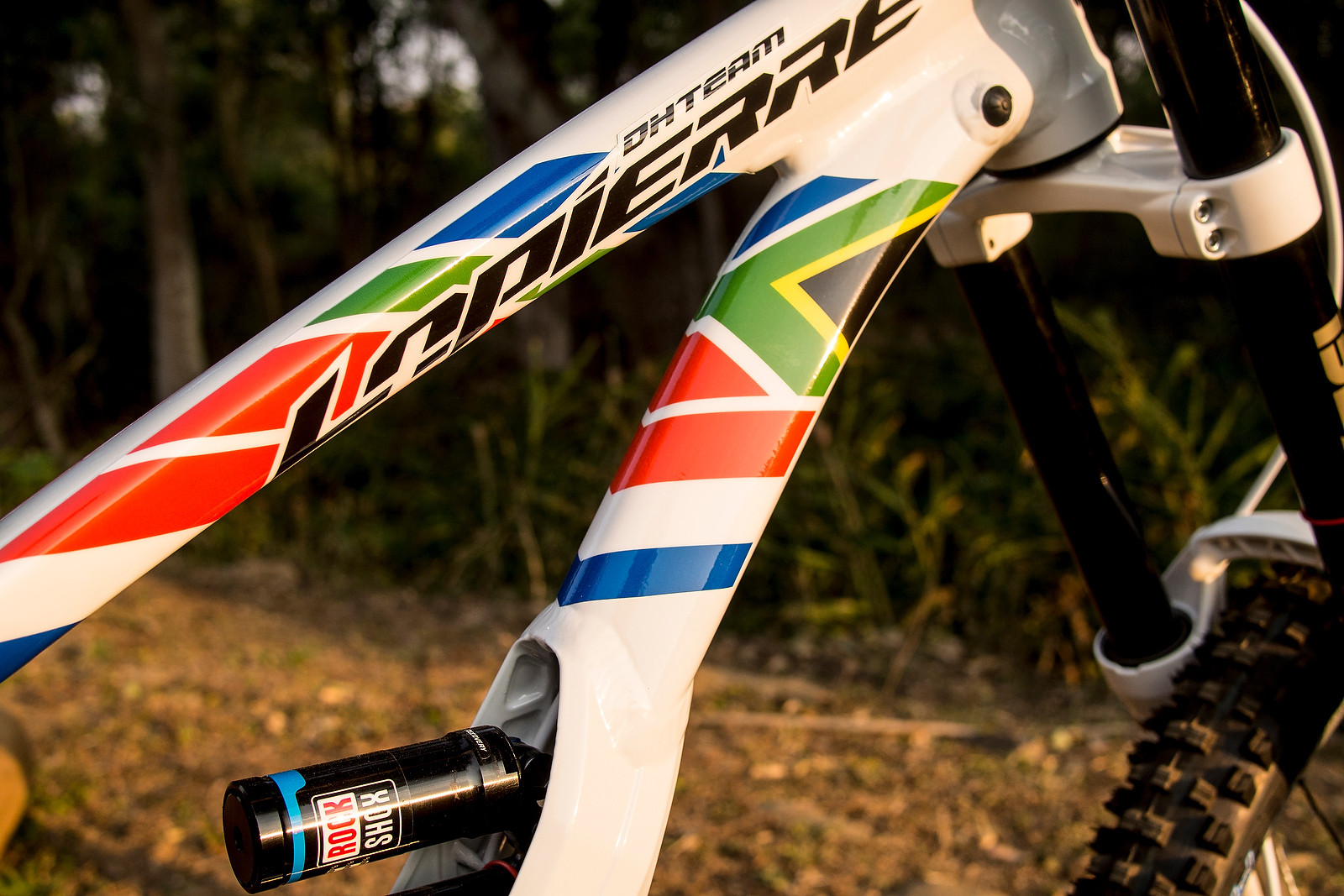 Emmeline Ragot's World Champs Lapierre Custom Paint - WORLD CHAMPS BIKE - Emmeline Ragot's Lapierre DH 720 - Mountain Biking Pictures - Vital MTB