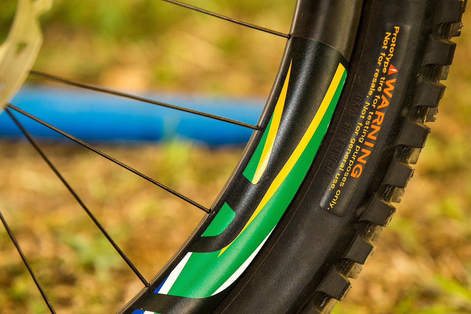 Greg Minnaar's Prototype Maxxis Single Ply Tire - World Championships Bikes and Gear 2013 - Mountain Biking Pictures - Vital MTB