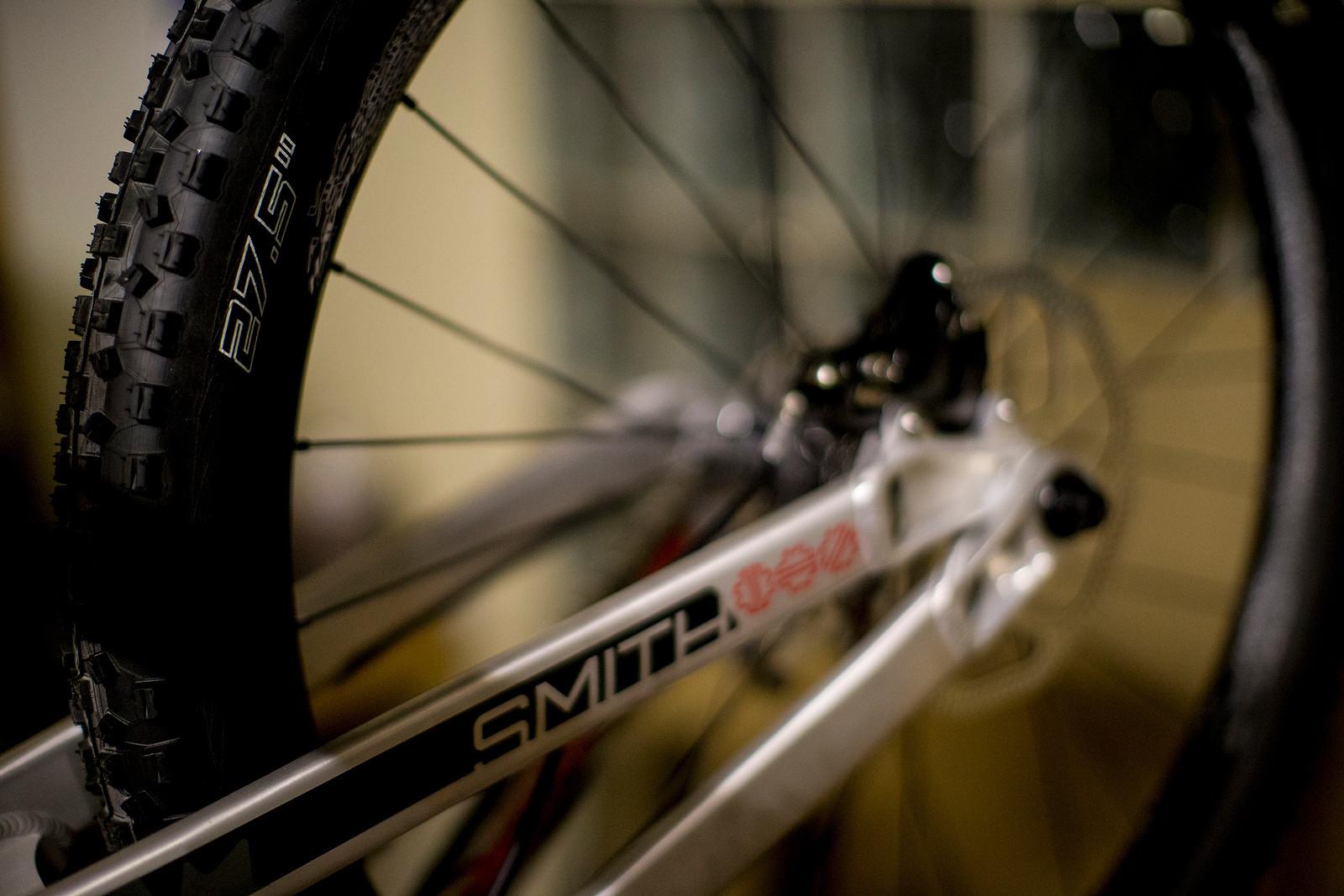 Steve Smith's Prototype 27.5 Bike Rear End - World Championships Bikes and Gear 2013 - Mountain Biking Pictures - Vital MTB