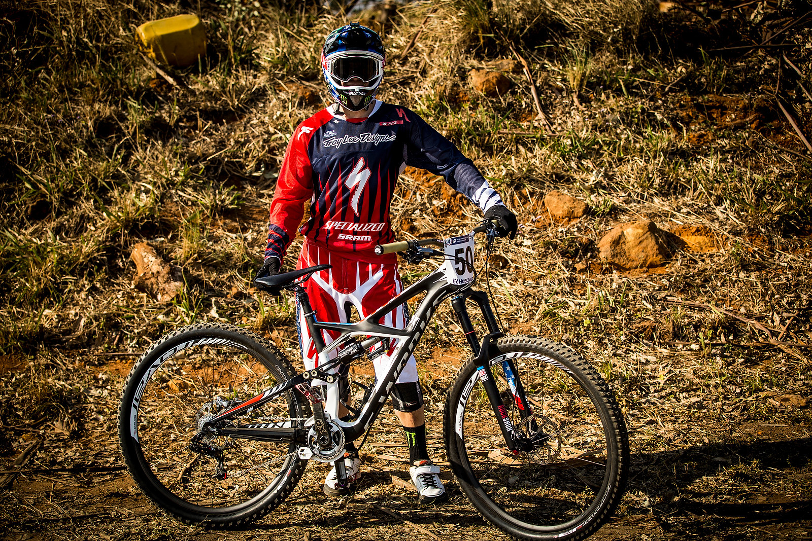 Mitch Ropelato Running a Specialized S-Works Enduro 29 at World Champs - World Championships Bikes and Gear 2013 - Mountain Biking Pictures - Vital MTB
