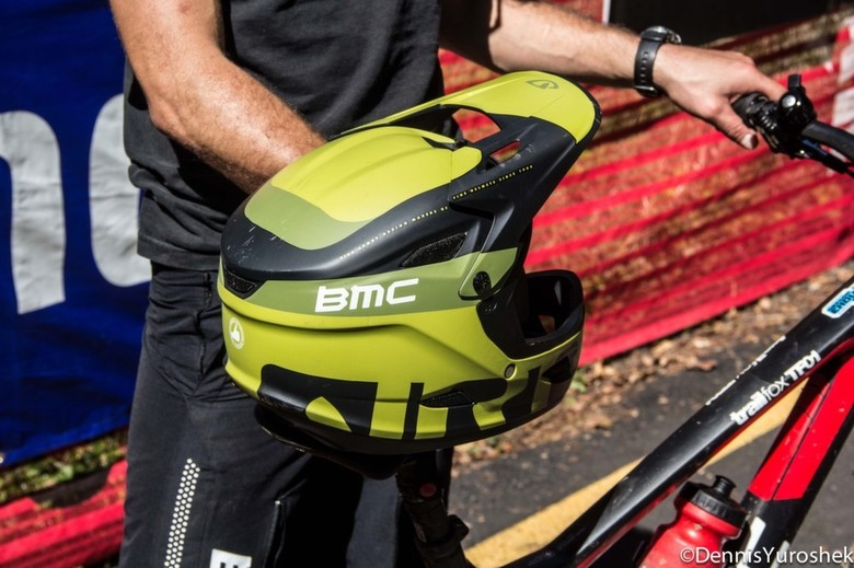Aaron Bradford's New Giro Cipher Helmet - PIT BITS: North American Enduro Tour, Mount Hood - Mountain Biking Pictures - Vital MTB