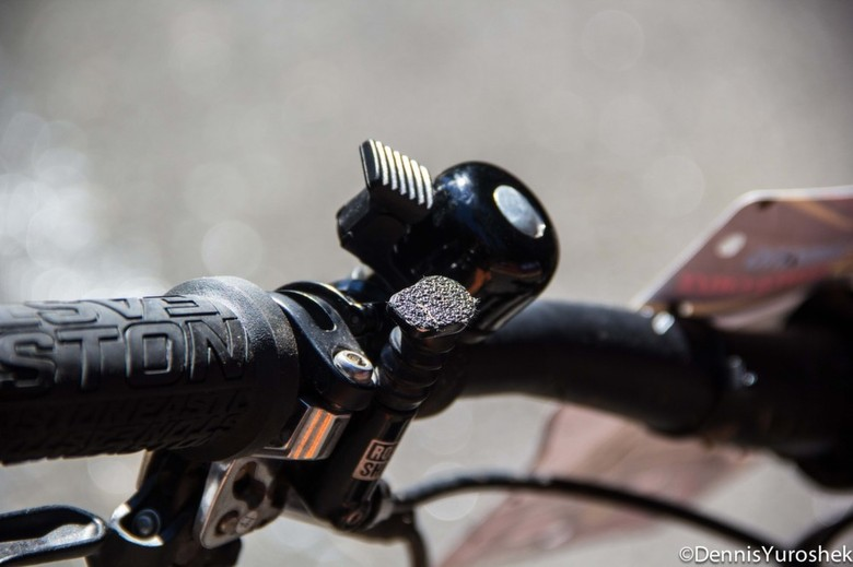 Aaron Bradford's Dialed Cockpit - PIT BITS: North American Enduro Tour, Mount Hood - Mountain Biking Pictures - Vital MTB