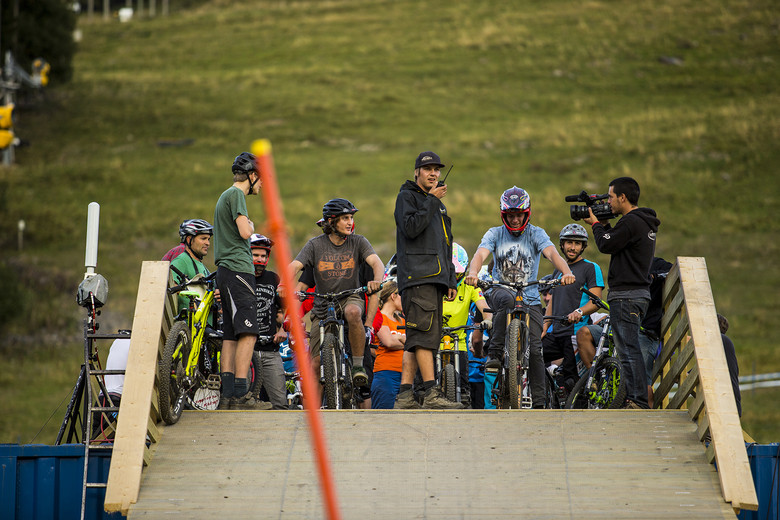 Staff of the Staff Race - Has-Beens vs. Wannabes! Industry World Champs Race at Hafjell - Mountain Biking Pictures - Vital MTB
