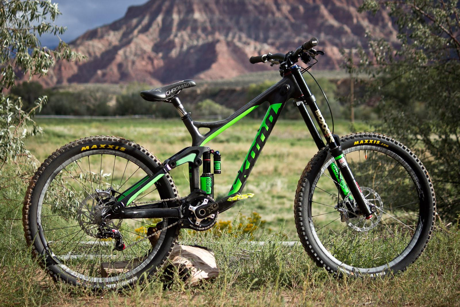 Rampage Pro Bike: Antoine Bizet's Kona Operator Carbon - Rampage Pro Bike: Antoine Bizet's Kona Operator Carbon - Mountain Biking Pictures - Vital MTB