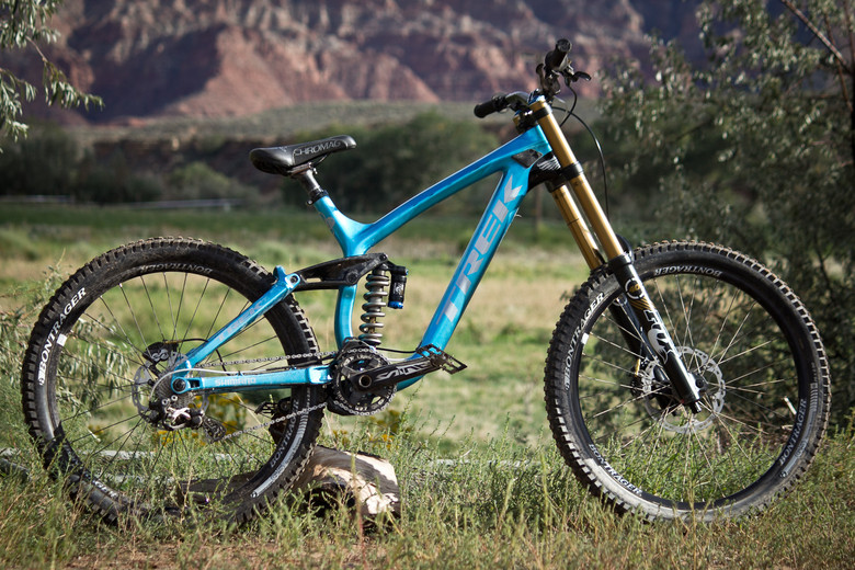 Rampage Pro Bike: Cam McCaul's Trek Session Park - Rampage Pro Bike: Cam McCaul's Trek Session Park - Mountain Biking Pictures - Vital MTB