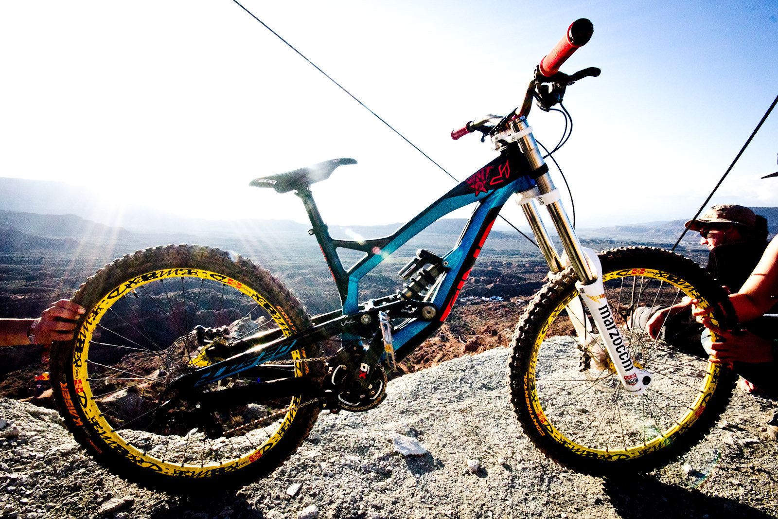 Rampage Pro Bike: Andreu Lacondeguy's YT Tues 2.0 - Rampage Pro Bike: Andreu Lacondeguy's YT Tues 2.0 - Mountain Biking Pictures - Vital MTB