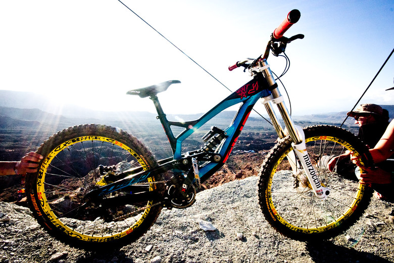 Rampage Pro Bike: Andreu Lacondeguy's YT Tues 2.0 - Rampage Pro Bike: Andreu Lacondeguy's YT Tues 2.0 - Mountain Biking Pictures - Vital MTB