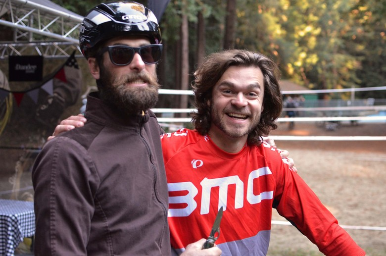 Scott Chapin and Aaron Bradford - PIT BITS - 2013 Santa Cruz Super Enduro - Mountain Biking Pictures - Vital MTB