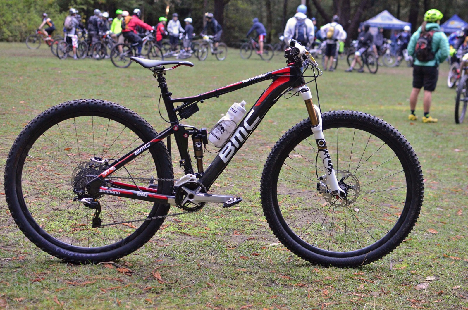 Aaron Bradford's BMC FourStroke FS01 29er - PIT BITS - 2013 Santa Cruz Super Enduro - Mountain Biking Pictures - Vital MTB