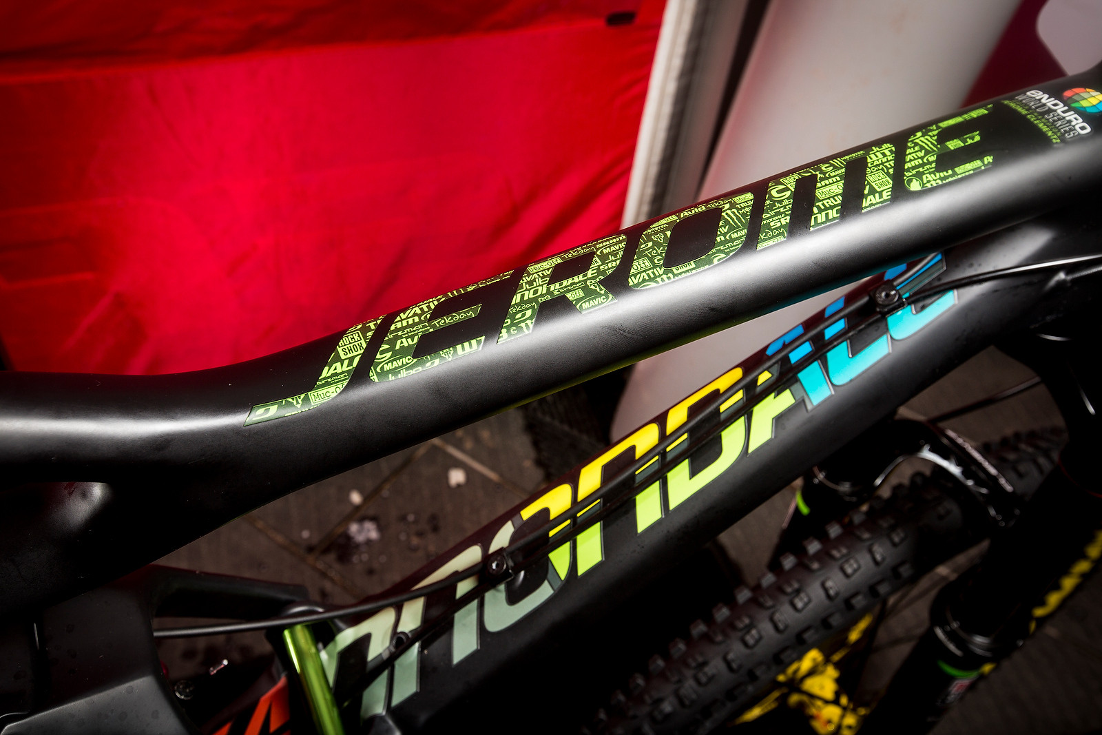 WINNING BIKE: Jerome Clementz's Cannondale Jekyll - WINNING BIKE: Jerome Clementz's Cannondale Jekyll - Mountain Biking Pictures - Vital MTB