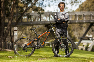 Winning Bike: Andrew Crimmins' Kona Supreme Operator