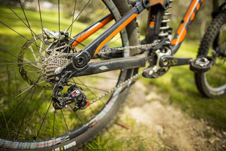 Winning Bike: Andrew Crimmins' Kona Supreme Operator - Winning Bike: Andrew Crimmins' Kona Supreme Operator - Mountain Biking Pictures - Vital MTB