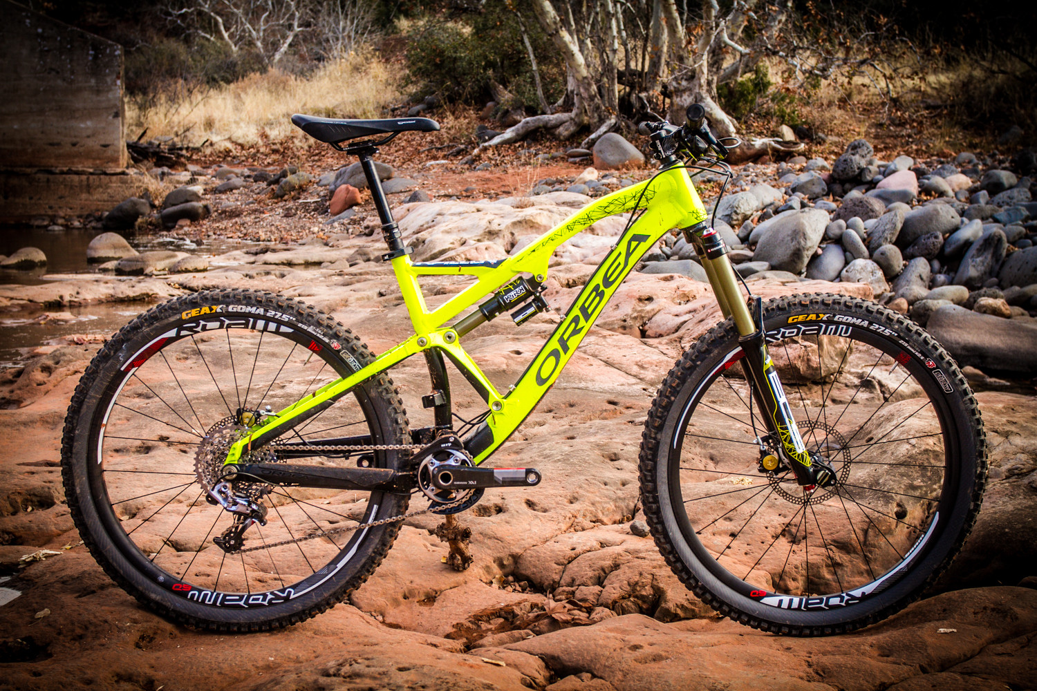 2014 Orbea Rallon X-LTD - 2014 Test Sessions: Orbea Rallon - Mountain Biking Pictures - Vital MTB