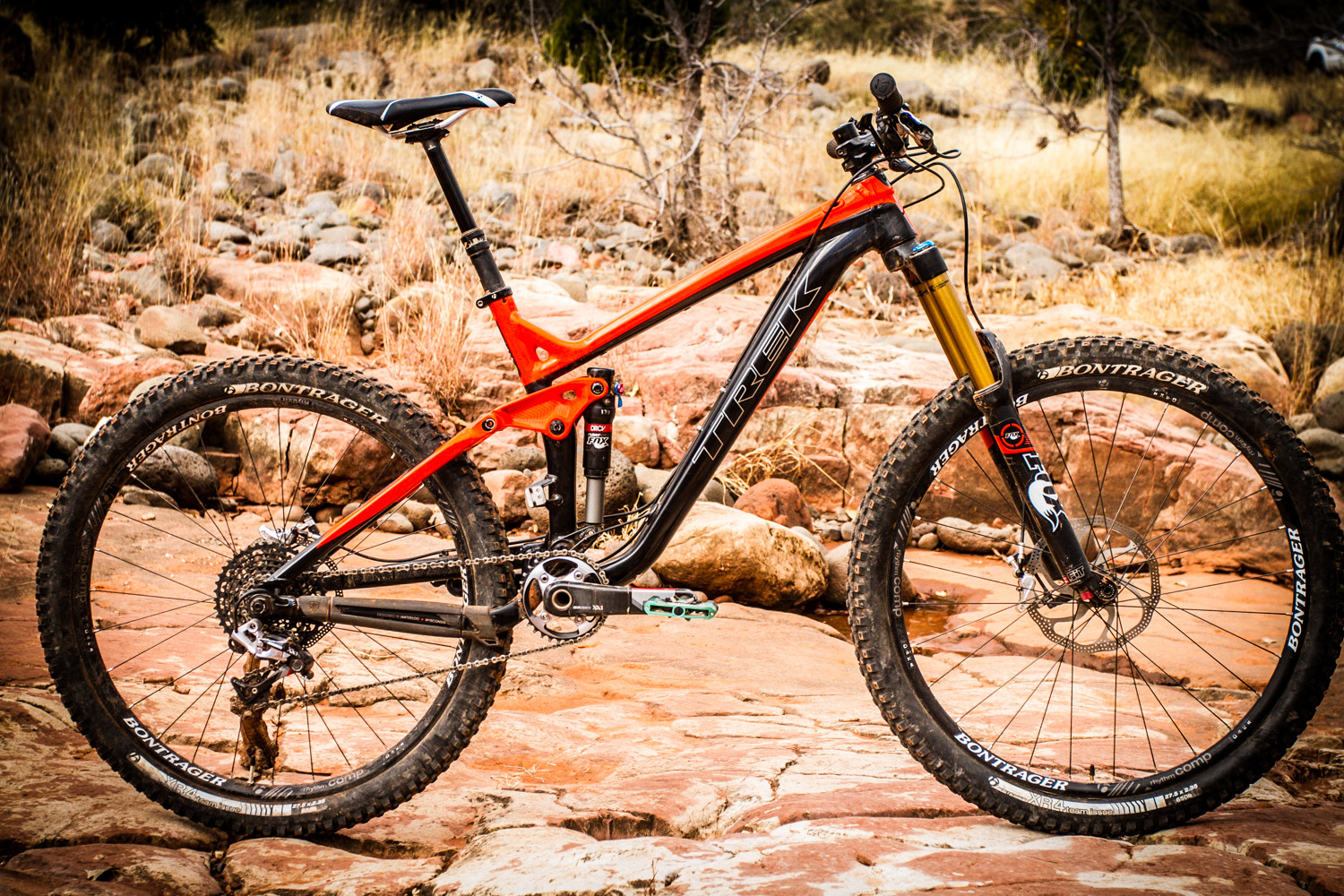 2014 Trek Slash 9 27.5 - 2014 Test Sessions: Trek Slash 27.5 - Mountain Biking Pictures - Vital MTB