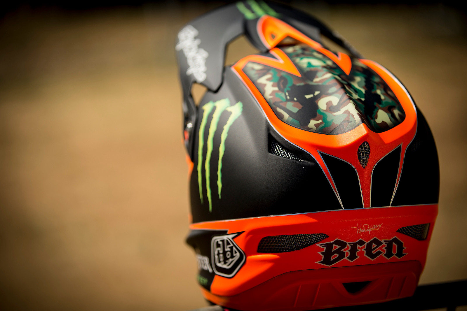 Brendan Fairclough S Custom Painted Troy Lee Designs D3