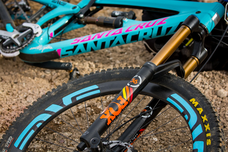 FOX 36 for 27.5-inch Wheels - PIT BITS - 2014 Enduro World Series 1 - PIT BITS - 2014 Enduro World Series 1, Chile - Mountain Biking Pictures - Vital MTB