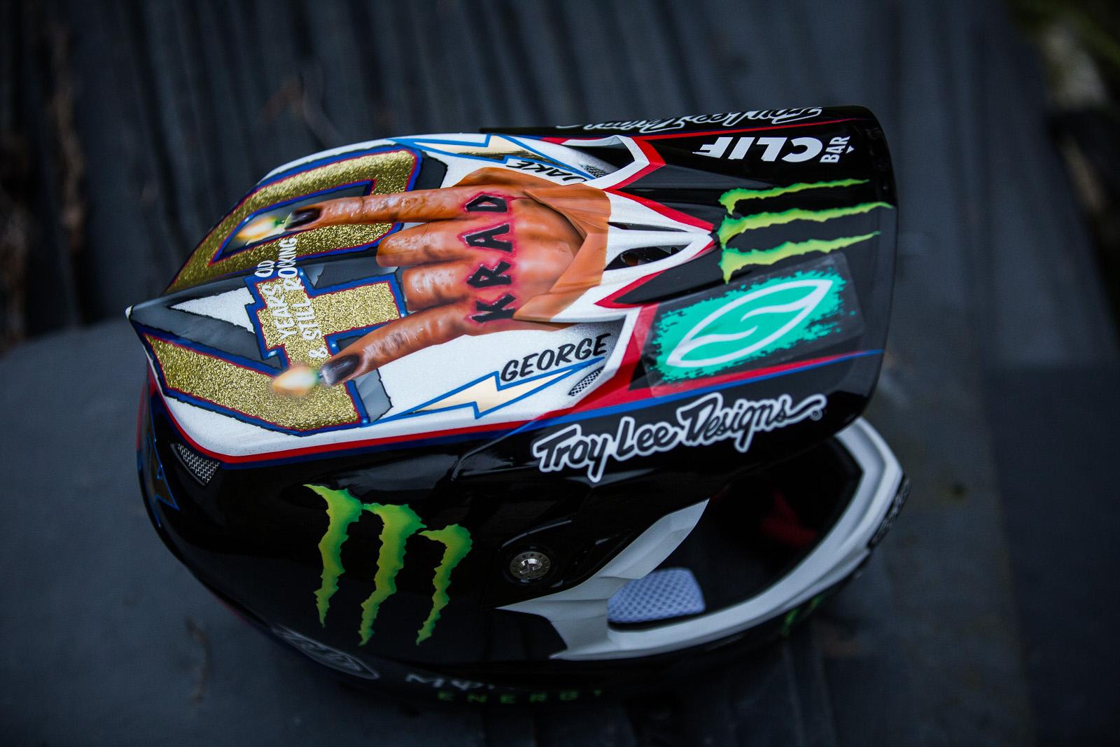Custom Painted Mountain Bike Helmets