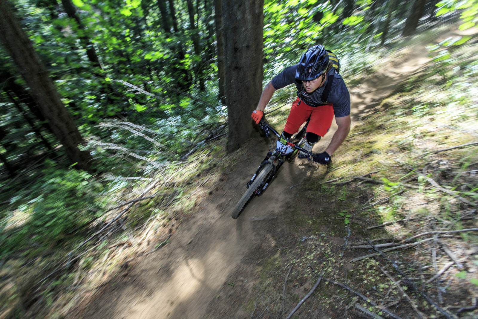 Kyle Strait - Oregon Enduro Series, Hood River - Oregon Enduro Hood River - Mountain Biking Pictures - Vital MTB