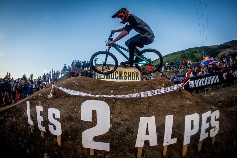 Brendan Fairclough, 1st Place Crankworx L2A Pumptrack Challenge - Pumptrack Challenge Action from Crankworx L2A - Mountain Biking Pictures - Vital MTB