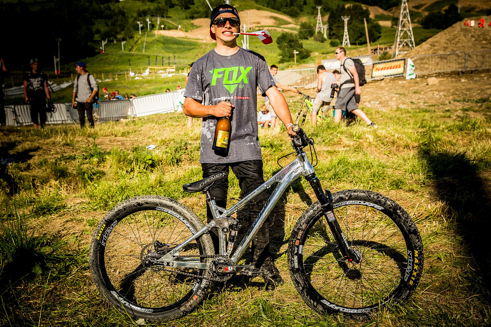 WINNING BIKE: Anthony Messere's Morpheus Vimana Slope - WINNING BIKE: Anthony Messere's Morpheus Vimana - Mountain Biking Pictures - Vital MTB