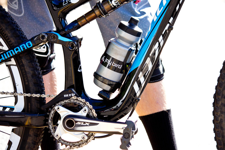 Bottle Cage on Cody Kelley's Stumpjumer FSR EVO 29 - Pro Bike Check: Cody Kelley's Specialized Stumpjumper FSR EVO 29 - Mountain Biking Pictures - Vital MTB