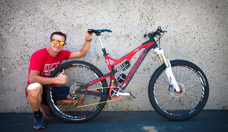 Pro Bike Check: Brian Lopes' Intense Tracer T275 - Pro Bike Check: Brian Lopes' Intense Tracer T275 - Mountain Biking Pictures - Vital MTB