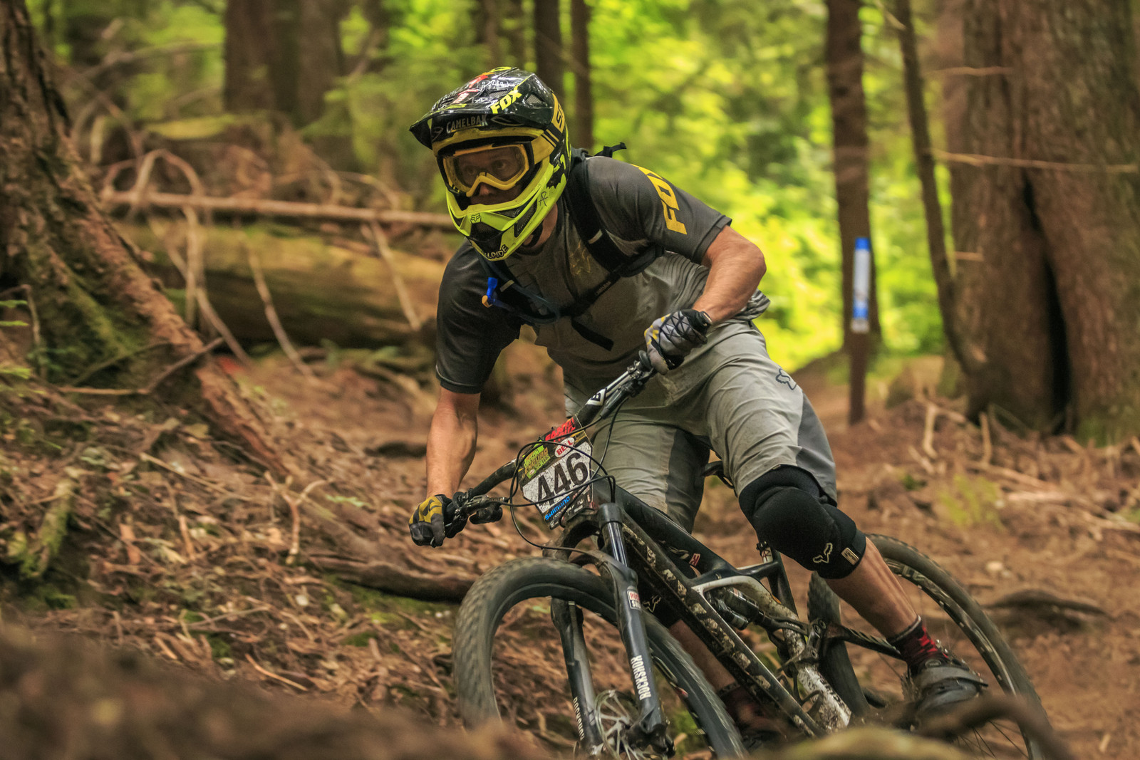 Kirt Voreis, Winner of the Oregon Enduro, Cold Creek - 2014 Oregon Enduro, Cold Creek - Mountain Biking Pictures - Vital MTB