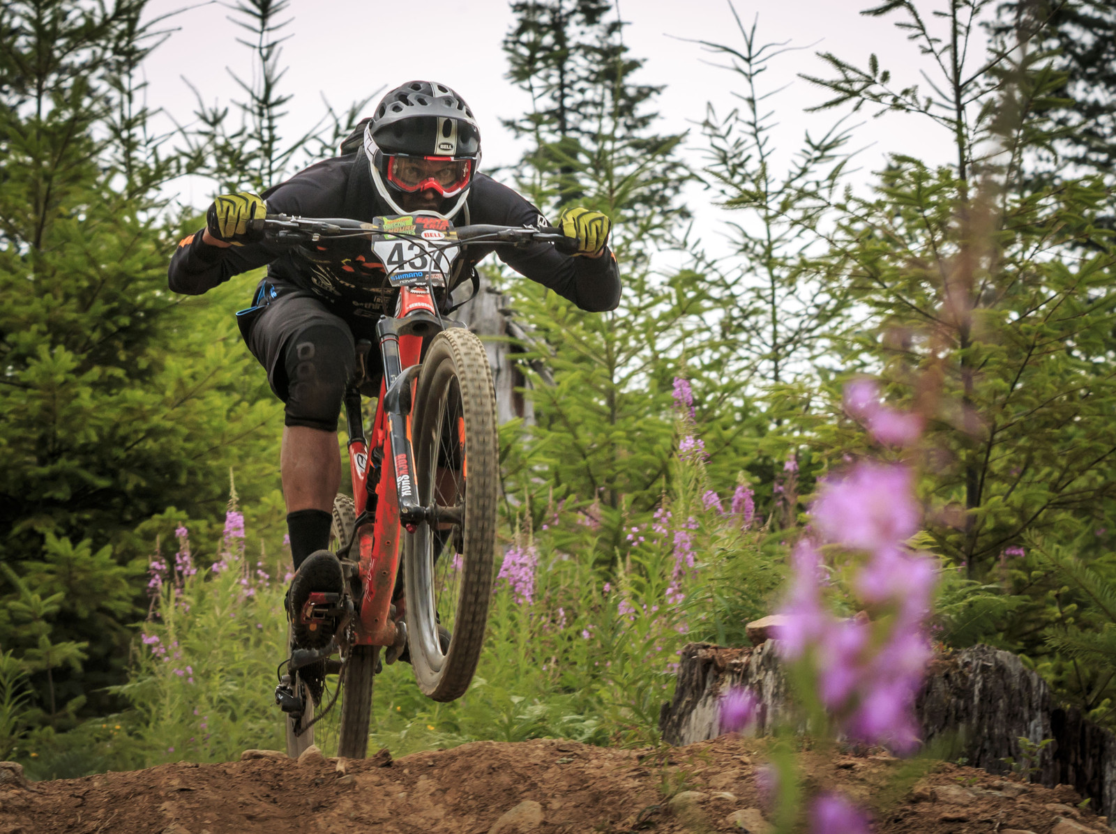 Matthew Slaven, 2nd Place Oregon Enduro, Cold Creek - 2014 Oregon Enduro, Cold Creek - Mountain Biking Pictures - Vital MTB