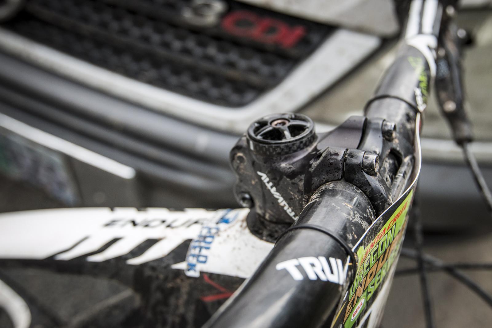 50mm Truvativ Holzfeller Stem on Kirt Voreis' Specialized Enduro 29 - WINNING BIKE: Kirt Voreis' Specialized Enduro 29 - Mountain Biking Pictures - Vital MTB