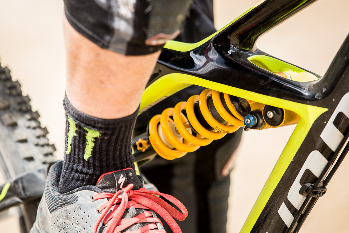 Mitch Ropelato's Ohlins TTX on his Specialized Enduro 29 - PIT BITS - 2014 Enduro World Series Colorado Freeride Festival - Mountain Biking Pictures - Vital MTB