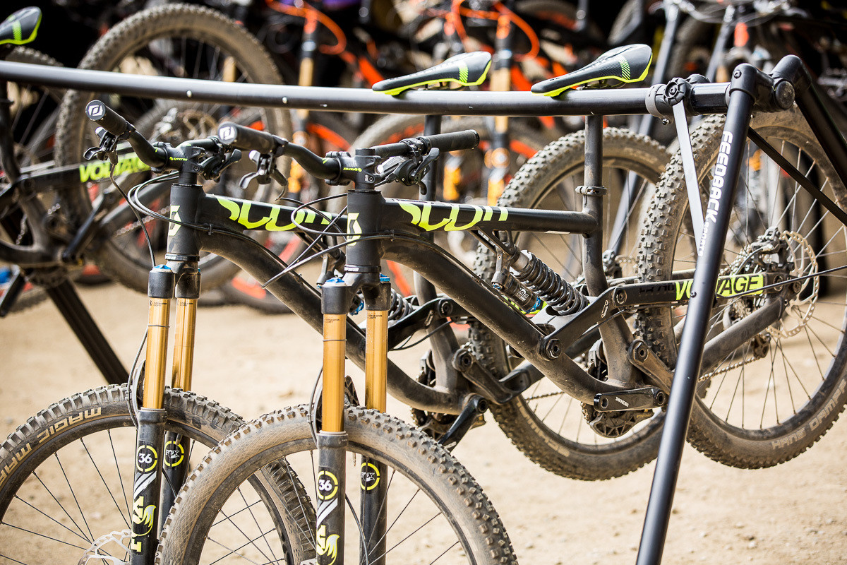 2015 Scott Voltage - PIT BITS - 2014 Enduro World Series Colorado Freeride Festival - Mountain Biking Pictures - Vital MTB