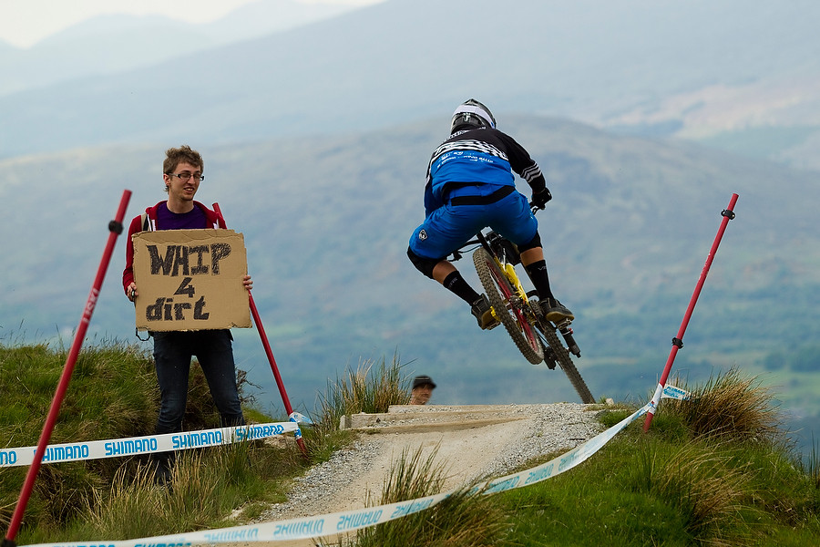 Bryn Atkinson - 2010 Fort William World Cup, Day 2 - Mountain Biking Pictures - Vital MTB