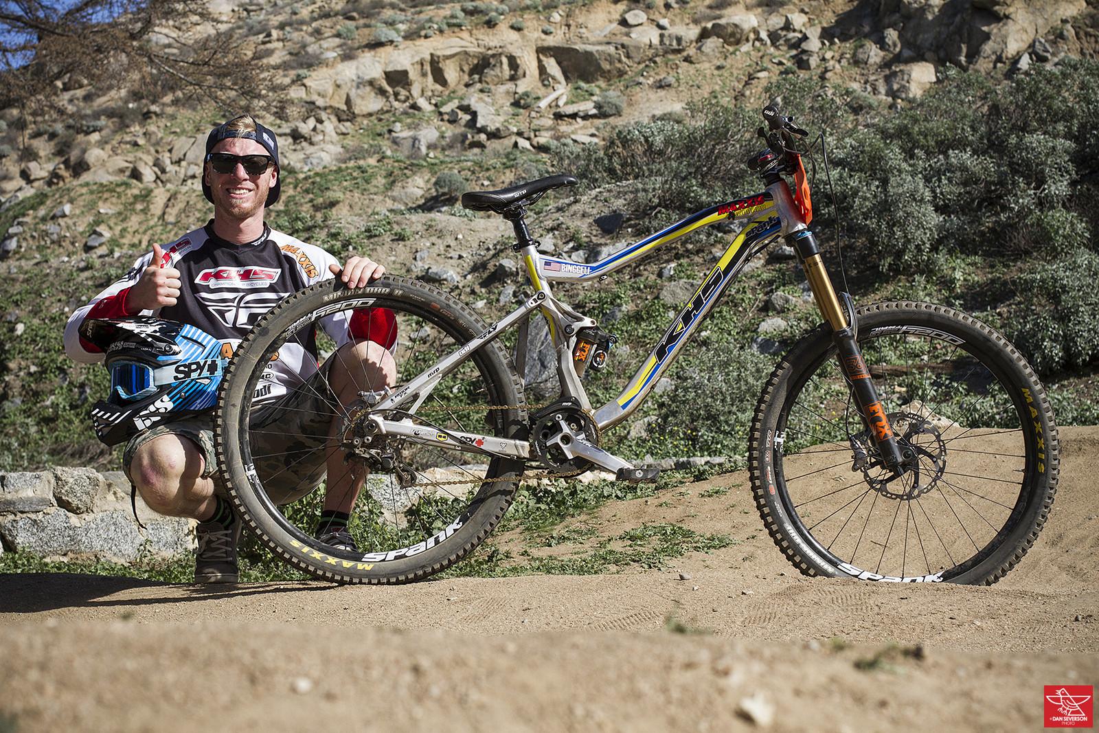 Pro Bike Check: Logan Binggeli's KHS 7500 - Pro Bike Check: Logan Binggeli's KHS 7500 - Mountain Biking Pictures - Vital MTB