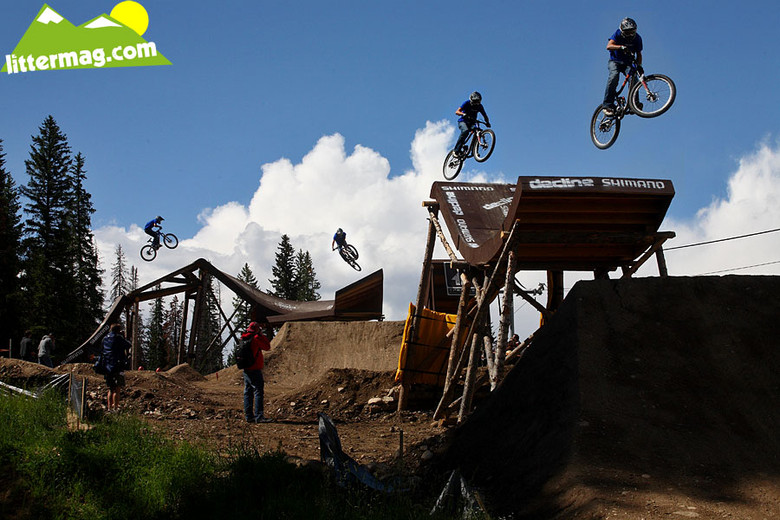 Kurt Sorge x4 - Crankworx Colorado Slopestyle Practice Photos - Mountain Biking Pictures - Vital MTB