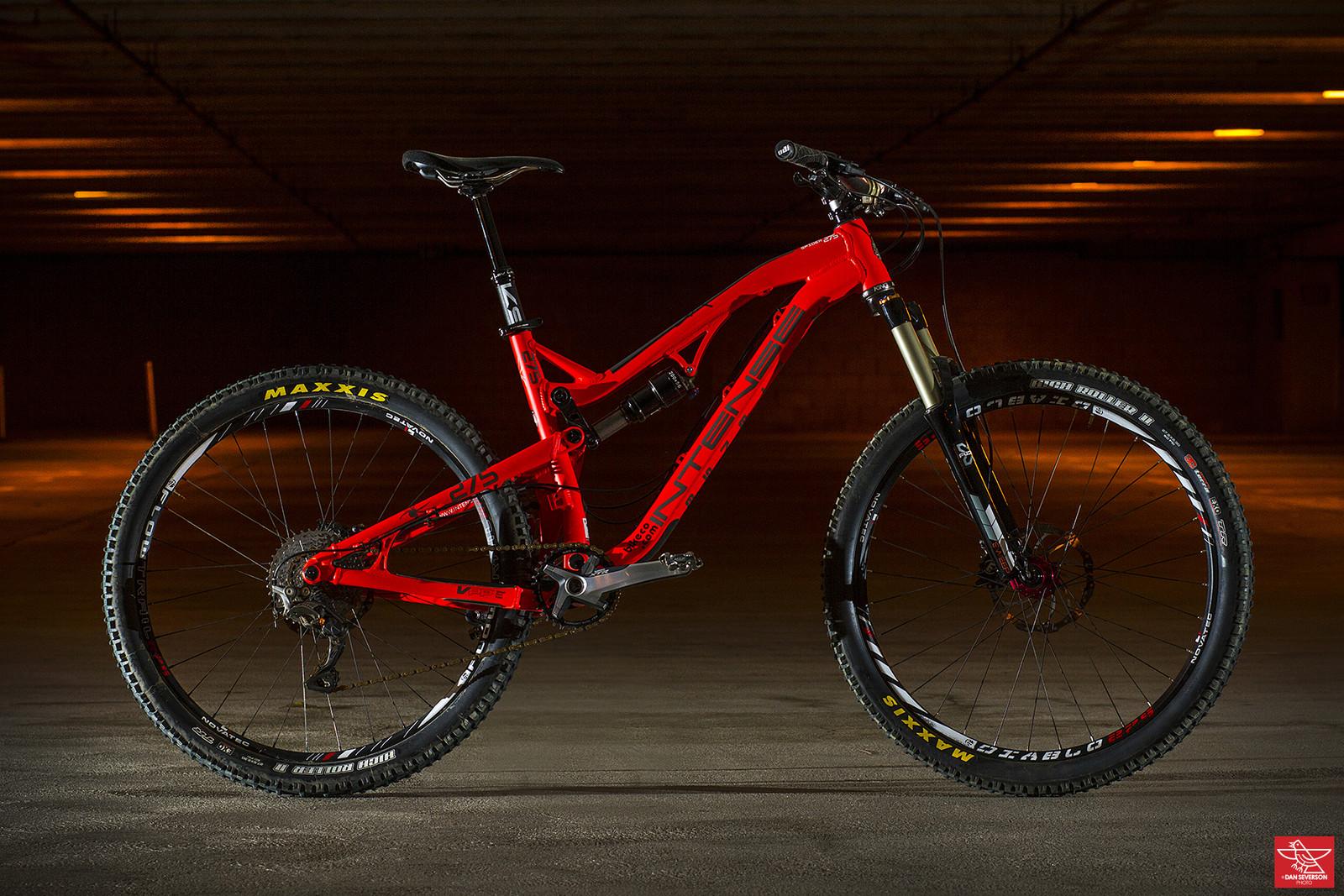 Pro Bike Check: Brian Lopes' Intense Spider 27.5 - Pro Bike Check: Brian Lopes' Intense Spider 27.5 - Mountain Biking Pictures - Vital MTB