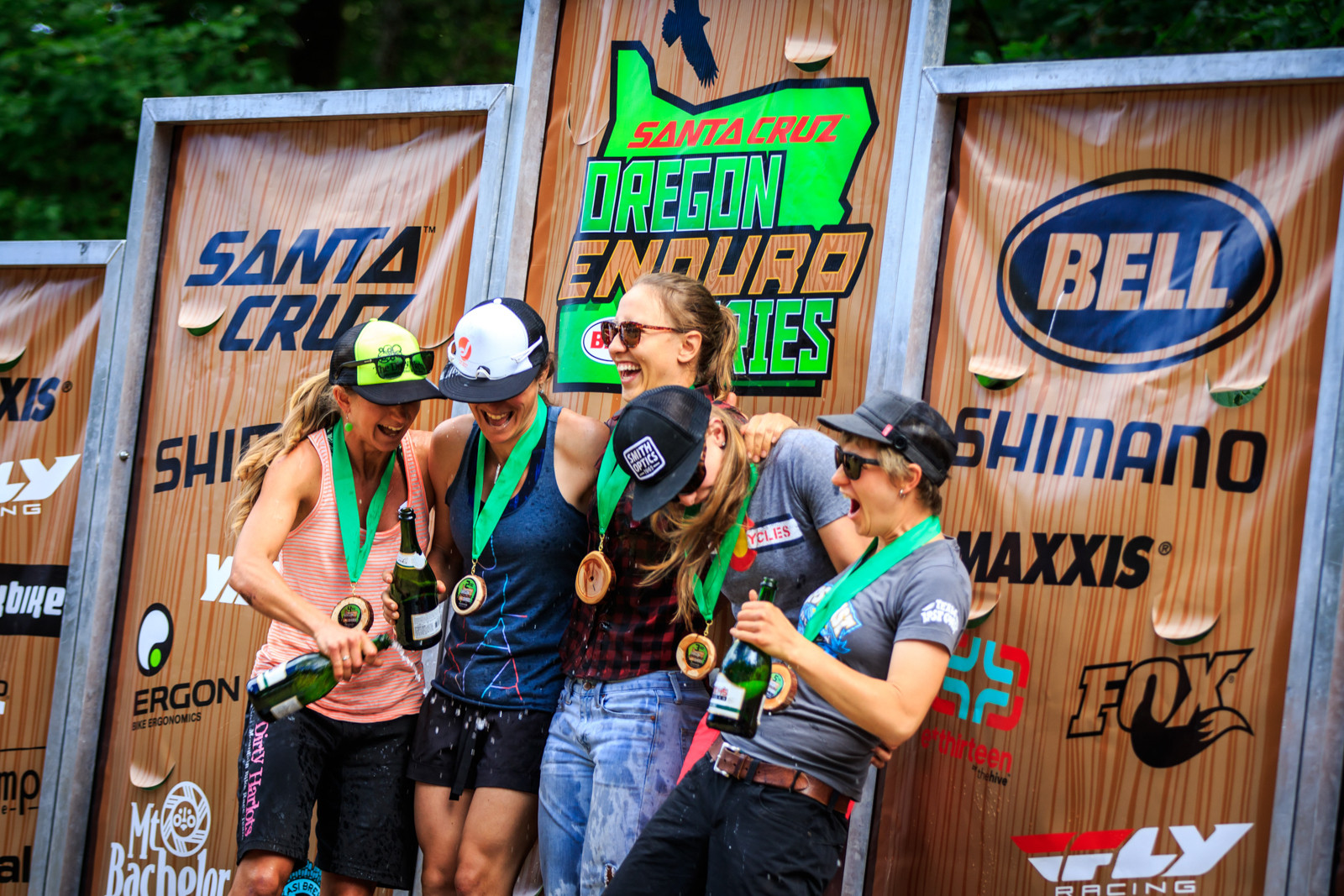 Pro Women's Podium, Oregon Enduro Hood River - Race Report, Oregon Enduro Series, Hood River - Mountain Biking Pictures - Vital MTB