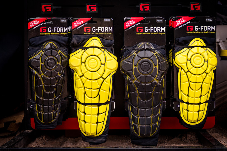 Form Pro-X Knee/Shin Guards - 2016 Protective Gear and Apparel at ...