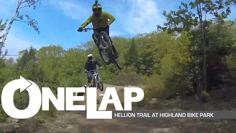 One Lap Hellion Trail At Highland Mountain Bike Park
