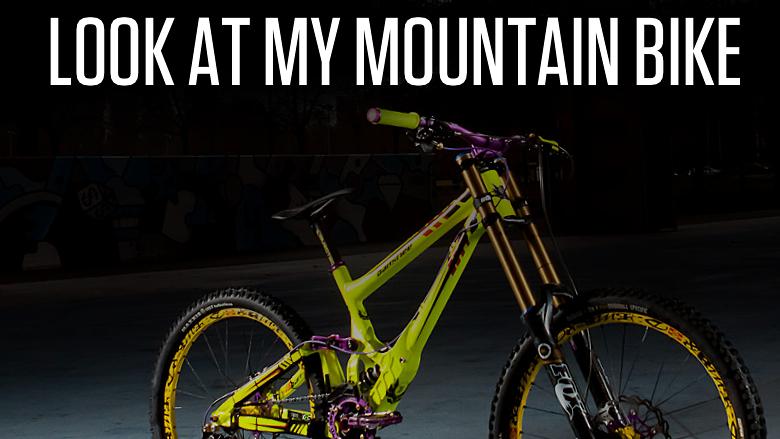 Drag Racing Helmets >> Look at My Mountain Bike - Mountain Biking Videos - Vital MTB