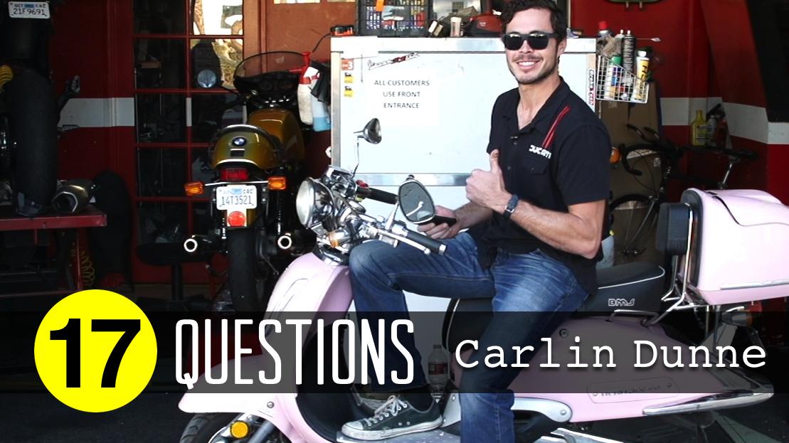 17 Questions Carlin Dunne Mountain Biking Videos