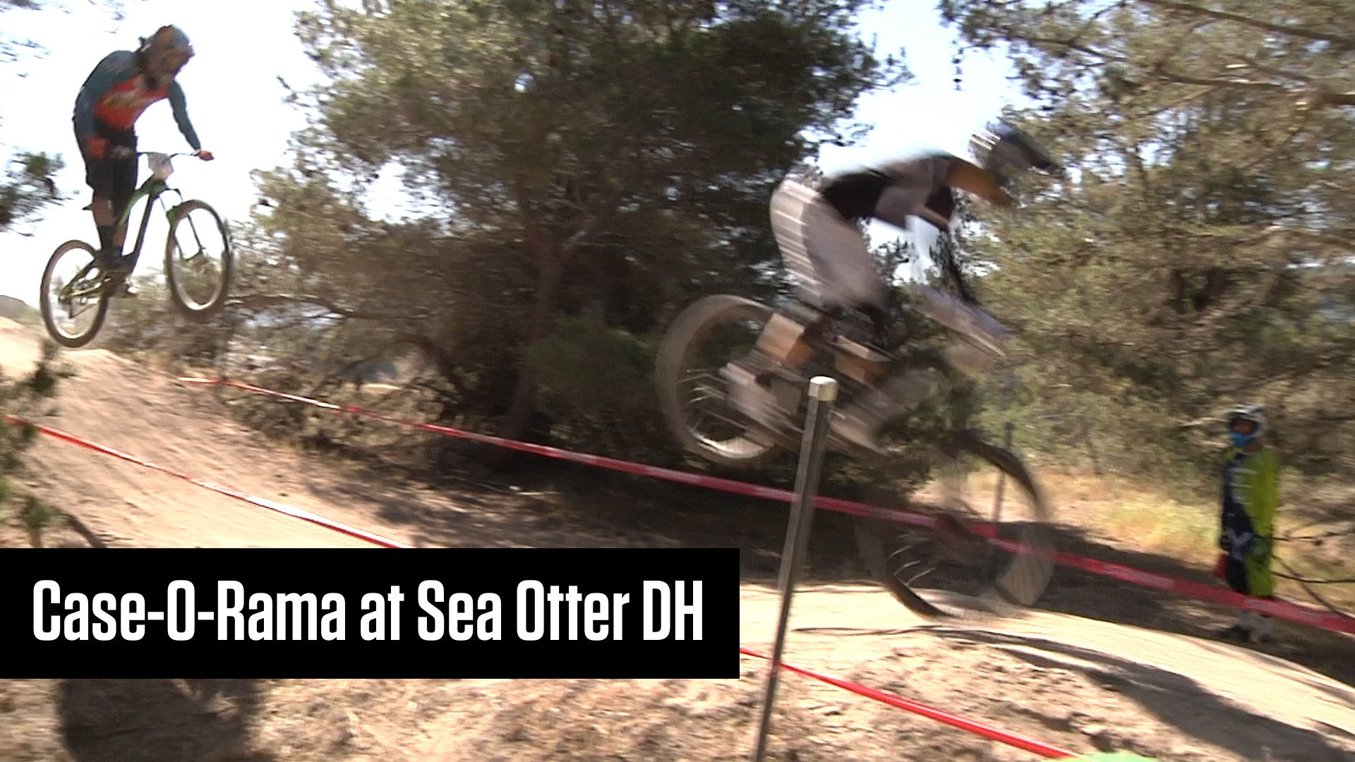 Case-o-Rama at Sea Otter DH - Mountain Biking Videos - Vital MTB