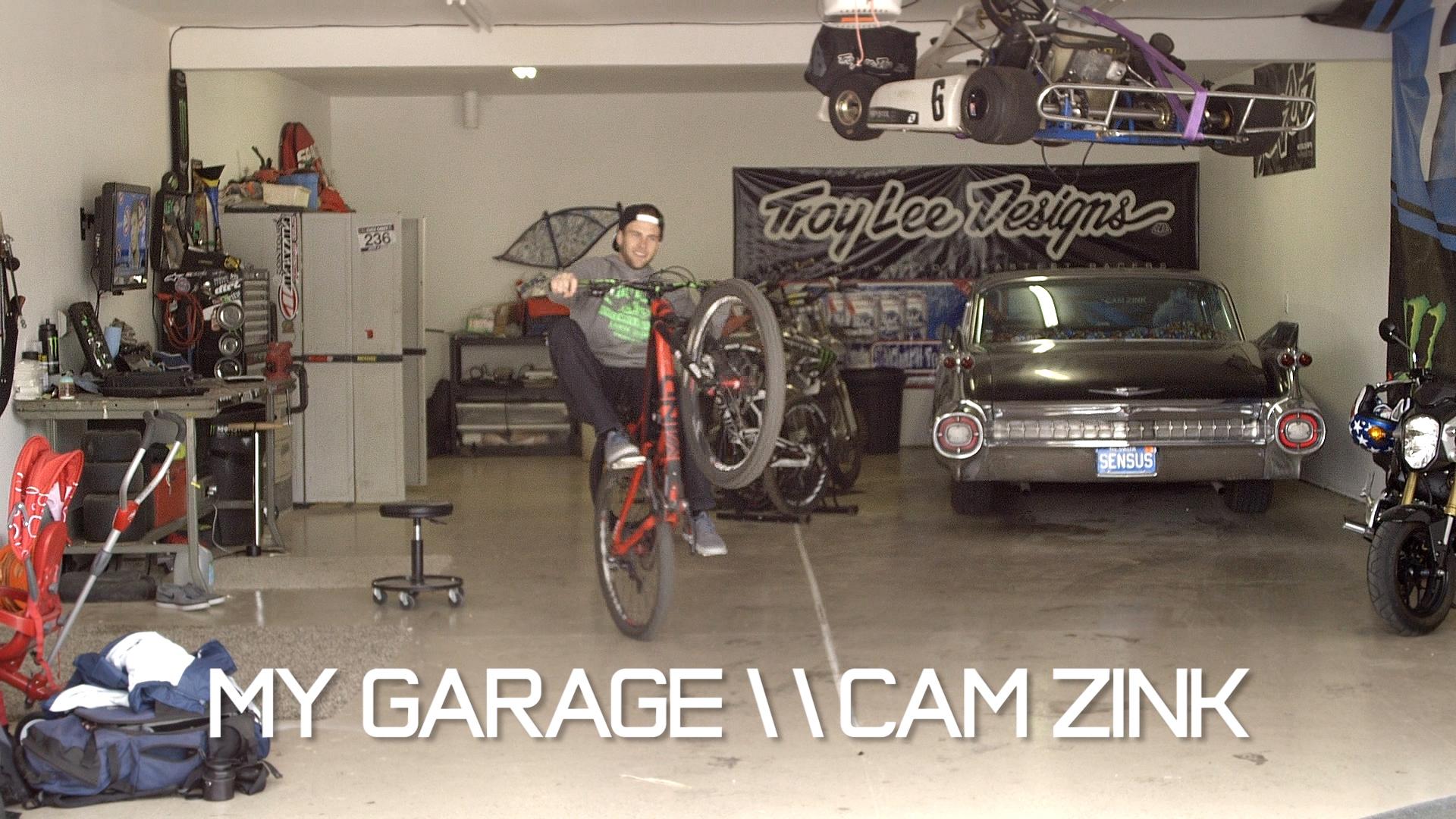 My Garage With Cam Zink Mountain Biking Videos Vital Mtb