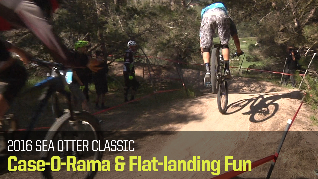 Case-O-Rama from Sea Otter 2016 - Mountain Biking Videos - Vital MTB