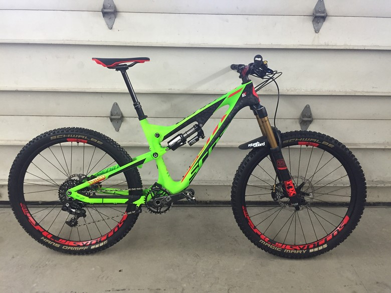 Trans Nz Enduro Scott Genius 700 Lt Tuned Build Gus