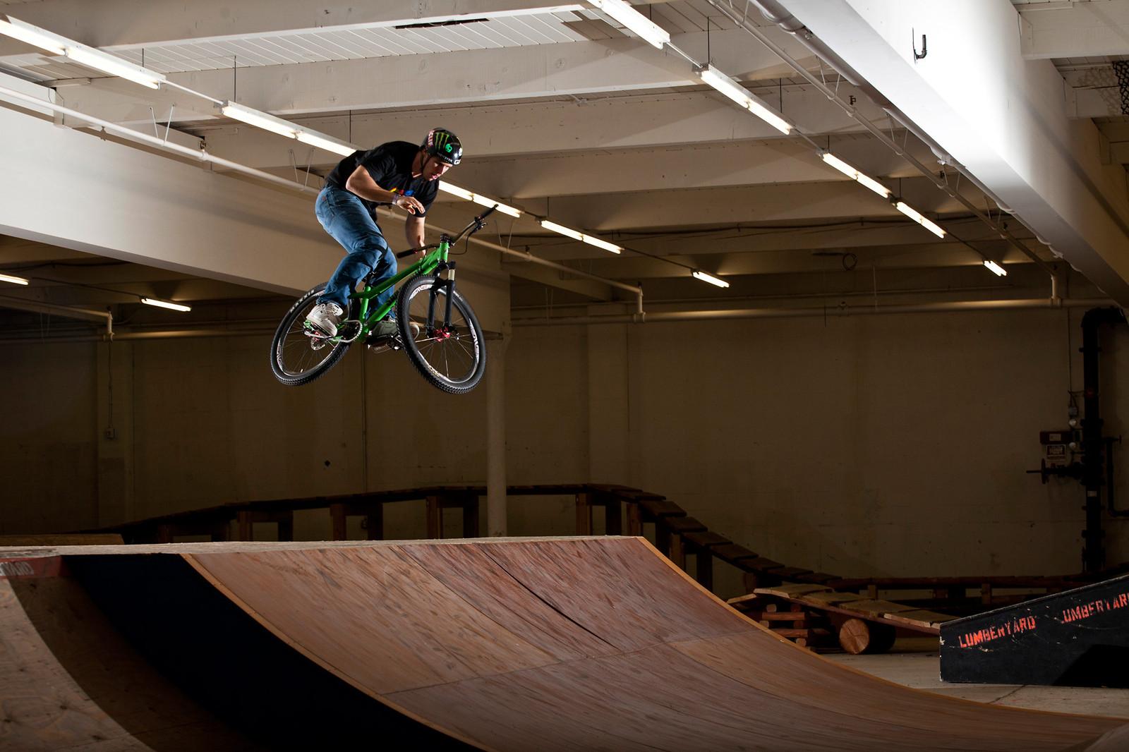 Jamie goldman lumberyard barspin - Jamie Goldman - Mountain Biking Pictures - Vital MTB
