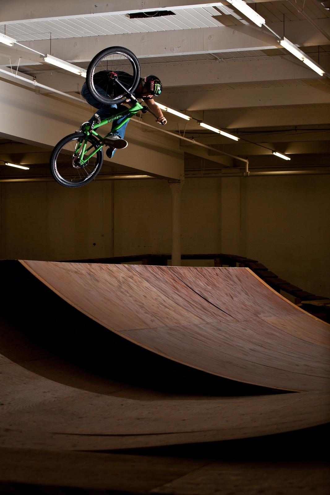 Jamie Goldman Lumberyard Invert - Jamie Goldman - Mountain Biking Pictures - Vital MTB