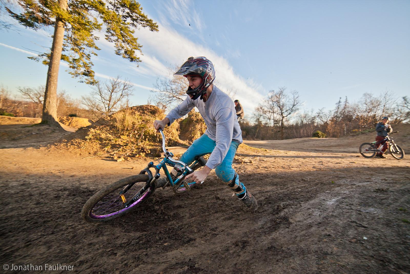 skids - Jonny Faulkner - Mountain Biking Pictures - Vital MTB